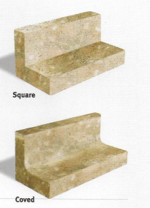 Square Vs Coved Upstands