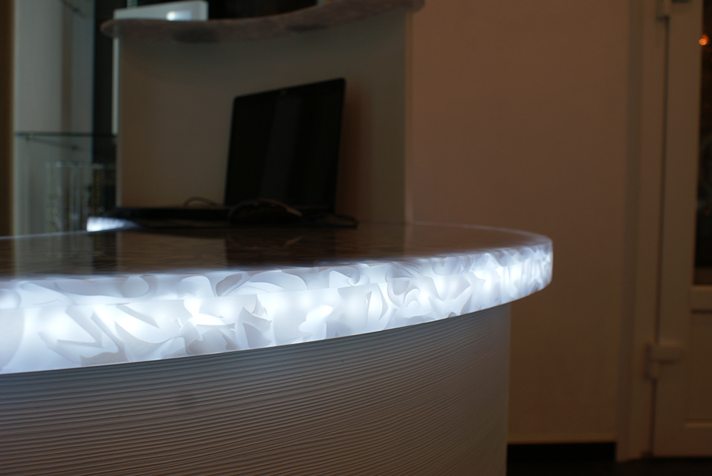 Lighting dfmk solid surface milton keynes for Avonite sinks