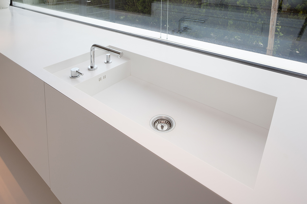 Using Non Sink Unit For Sink In Kitchen
