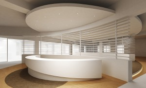 Reception desks & offices