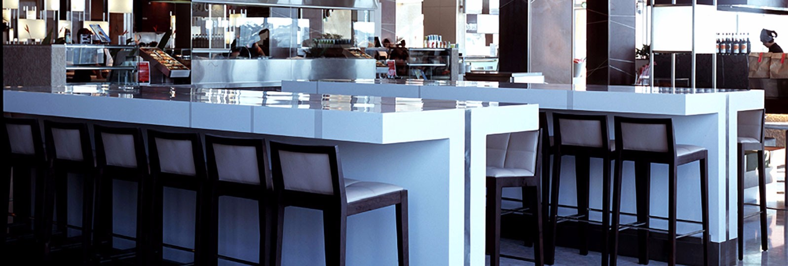 corian-white-tables