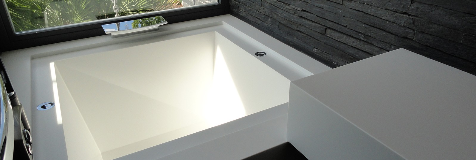 hanex white bath