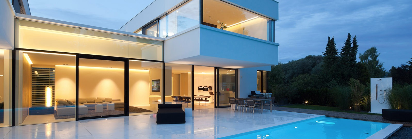 hi-macs house in germany white exterior cladding